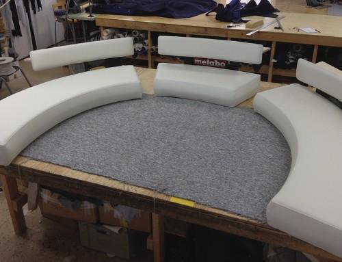 TV-soffa – VM studion